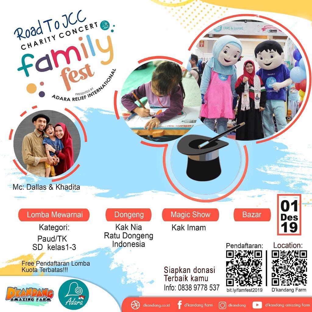 Family Fest: Momen Liburan Terbaik Bersama Keluarga