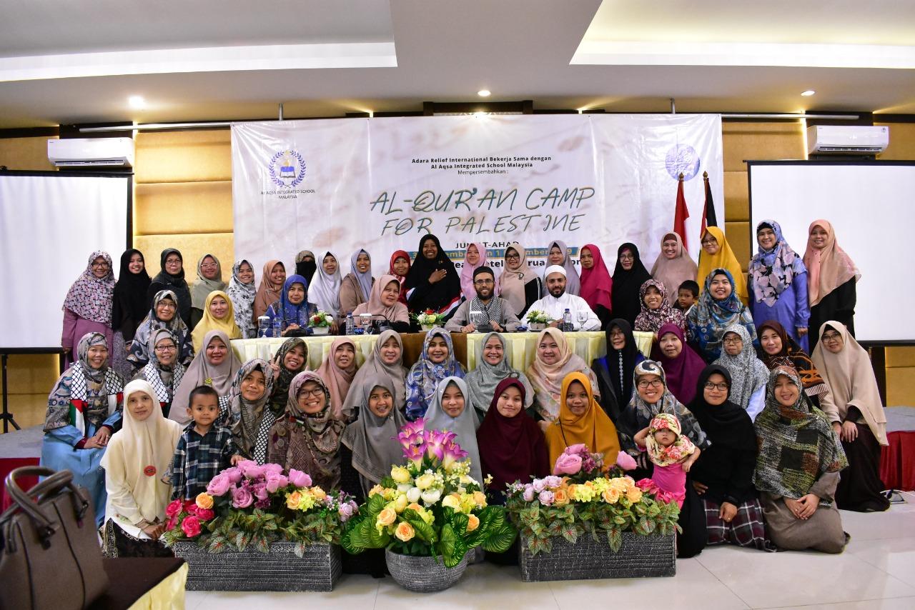 Camp Qur'an For Palestine: Raih Kemenangan dan Kejayaan Palestina dengan Al Qur'an