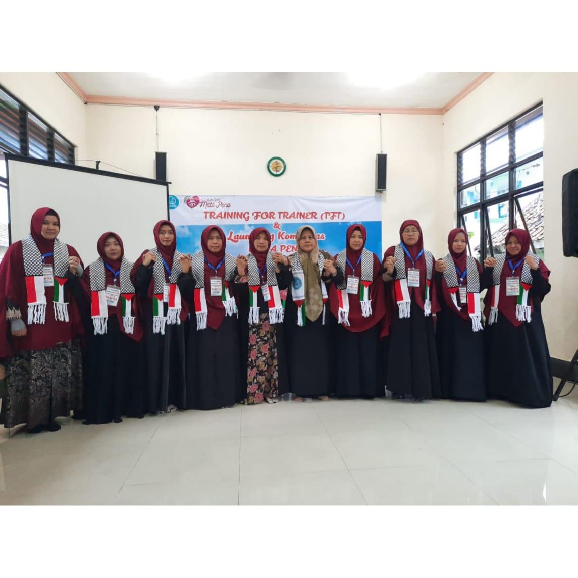 Training For Trainer (TFT) dan Launching Komunitas ke- 19 : Mata Pena, Pangkal Pinang Bangka Belitung