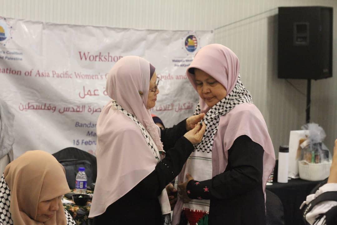 Nurjanah Hulwani Didapuk Menjadi Ketua Koalisi Perempuan International untuk Al Quds dan Palestina (GWCQP) Wilayah Asia Pasifik