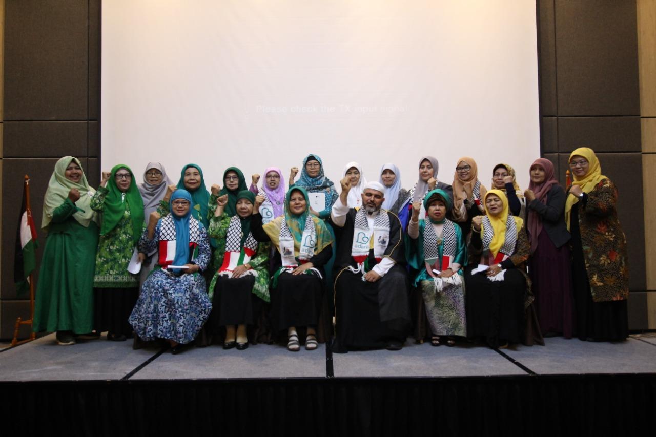 DEKLARASI FOL-PIP (Forum Ormas dan Lembaga Perempuan Indonesia untuk Palestina) dan Launching Crowdfunding Website Dalam Milad ke 12 Adara