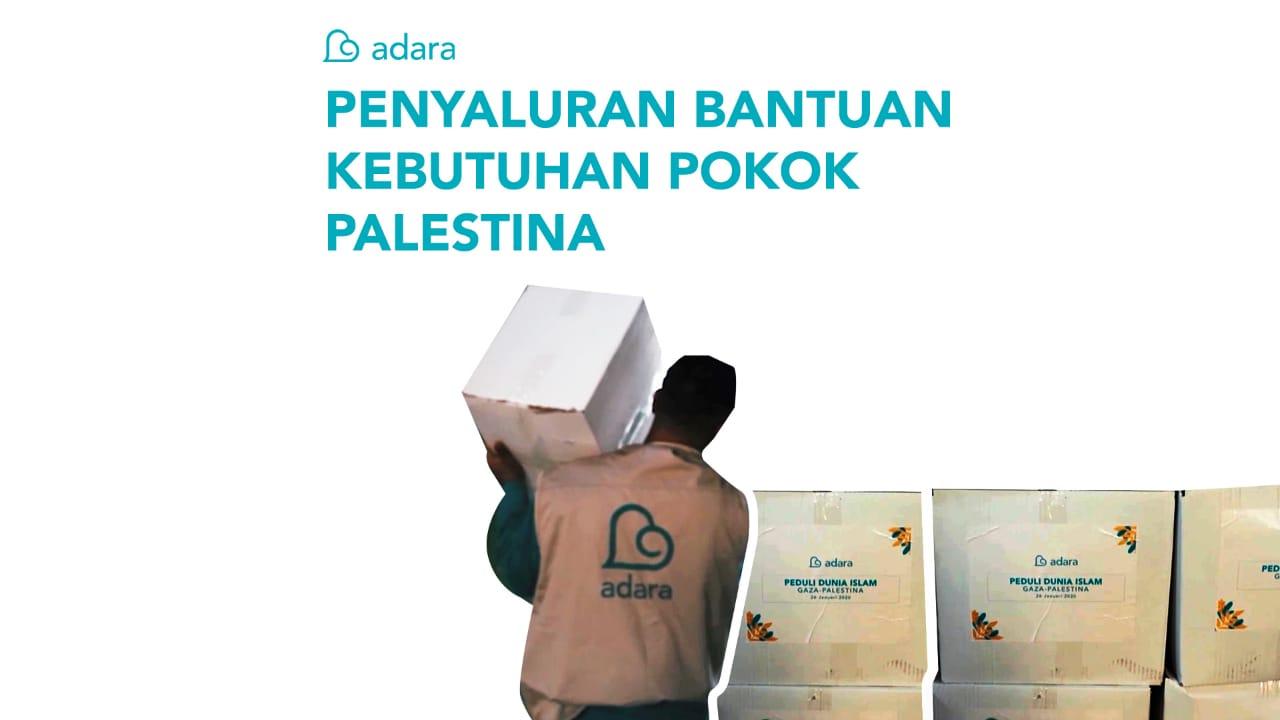 Kebutuhan Pokok Dari Keluarga Indonesia untuk Keluarga Palestina