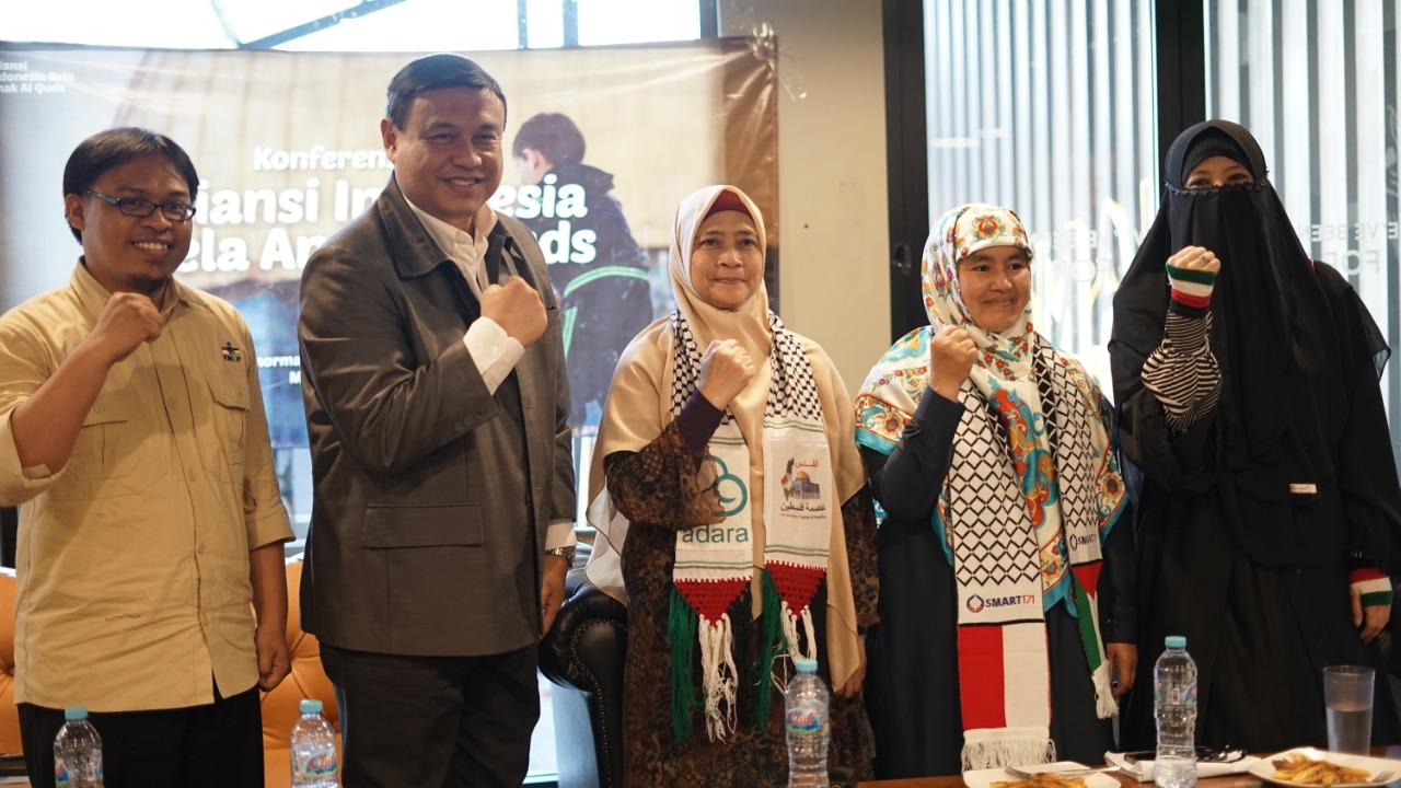 Konferensi Pers Aliansi Indonesia Bela Anak Al Quds: Peluncuran Kampanye Bela Anak Al Quds