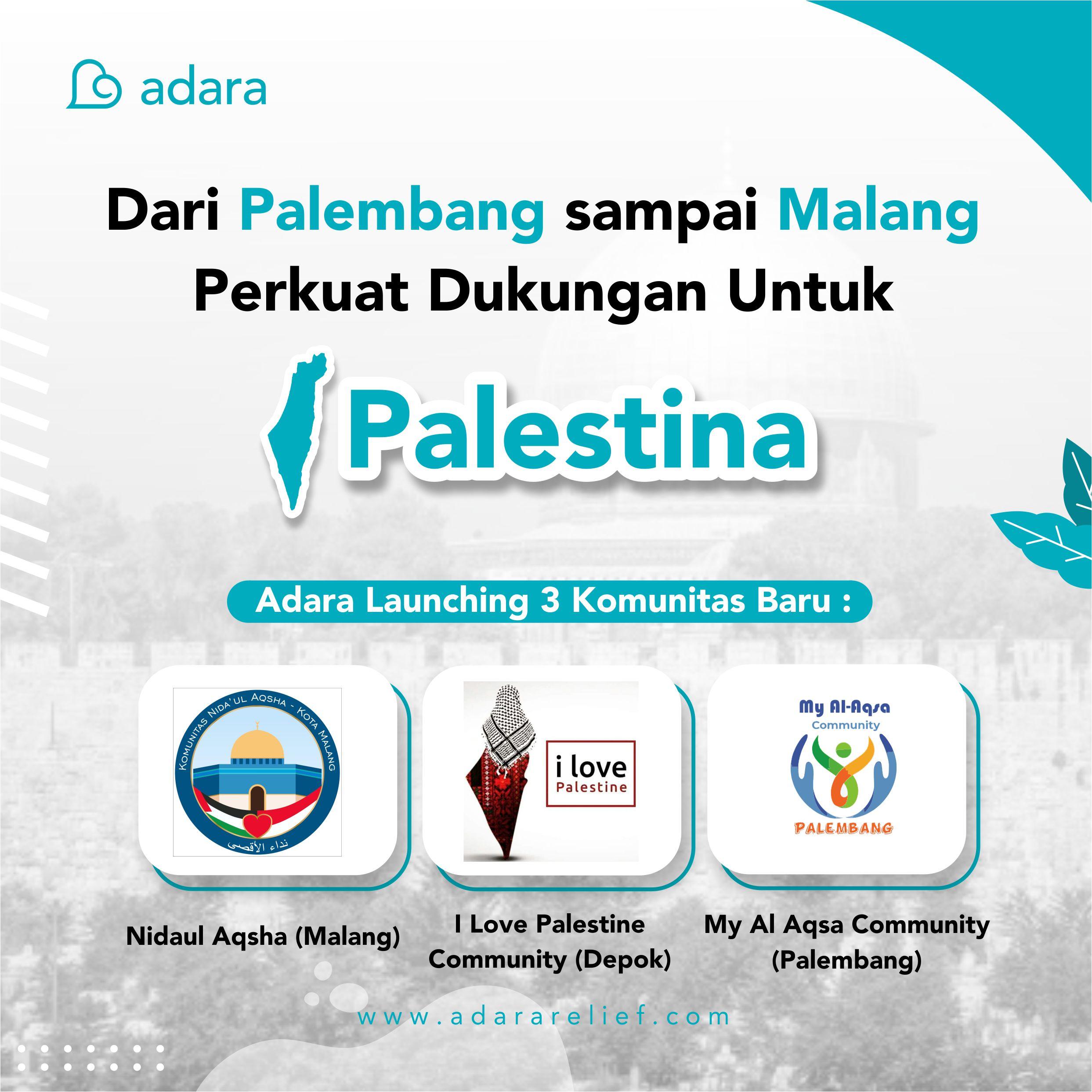 Dari Palembang sampai Malang Perkuat Dukungan Untuk Palestina