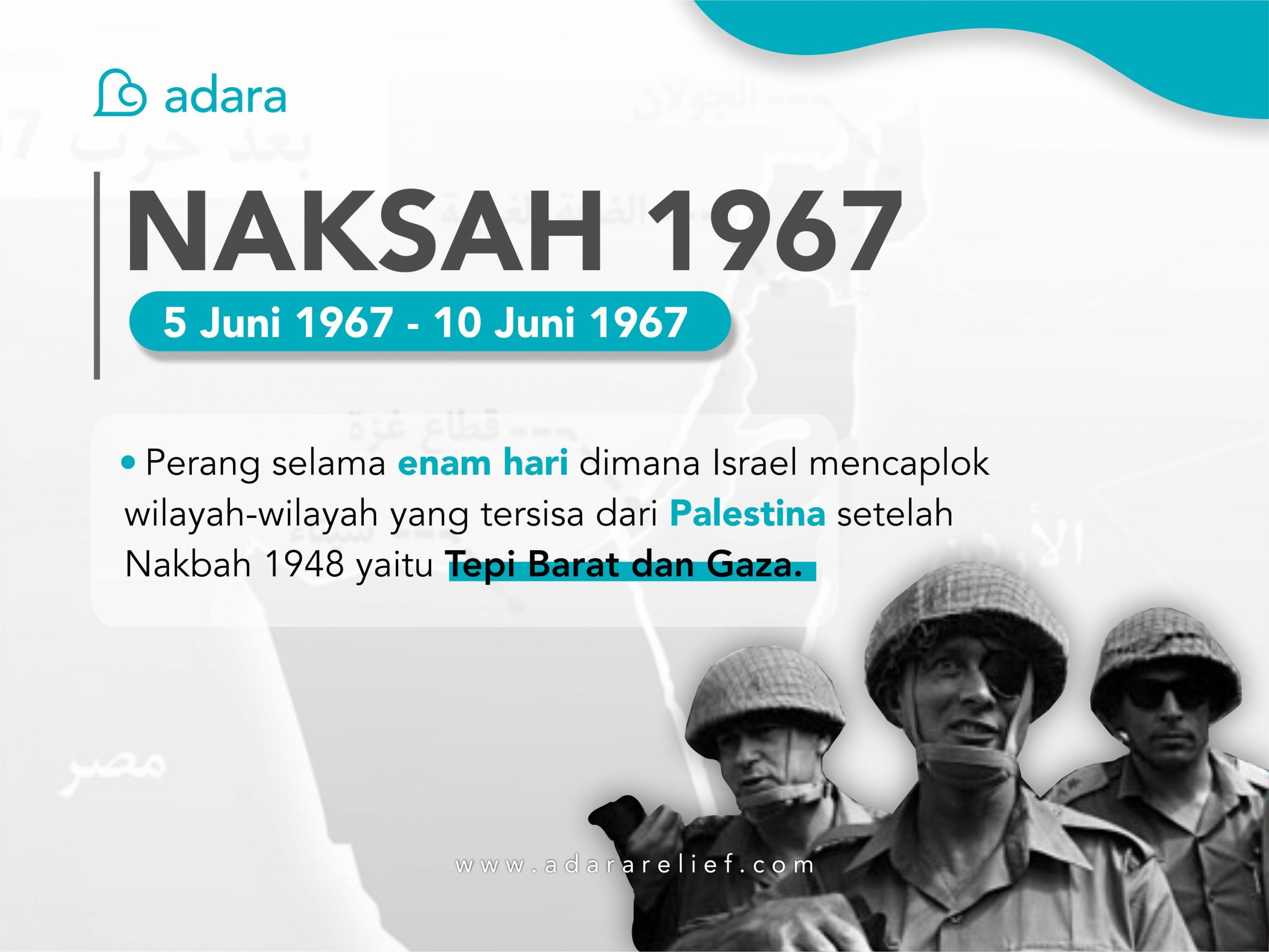 Penjajahan Zionis dan Perang Naksah 1967
