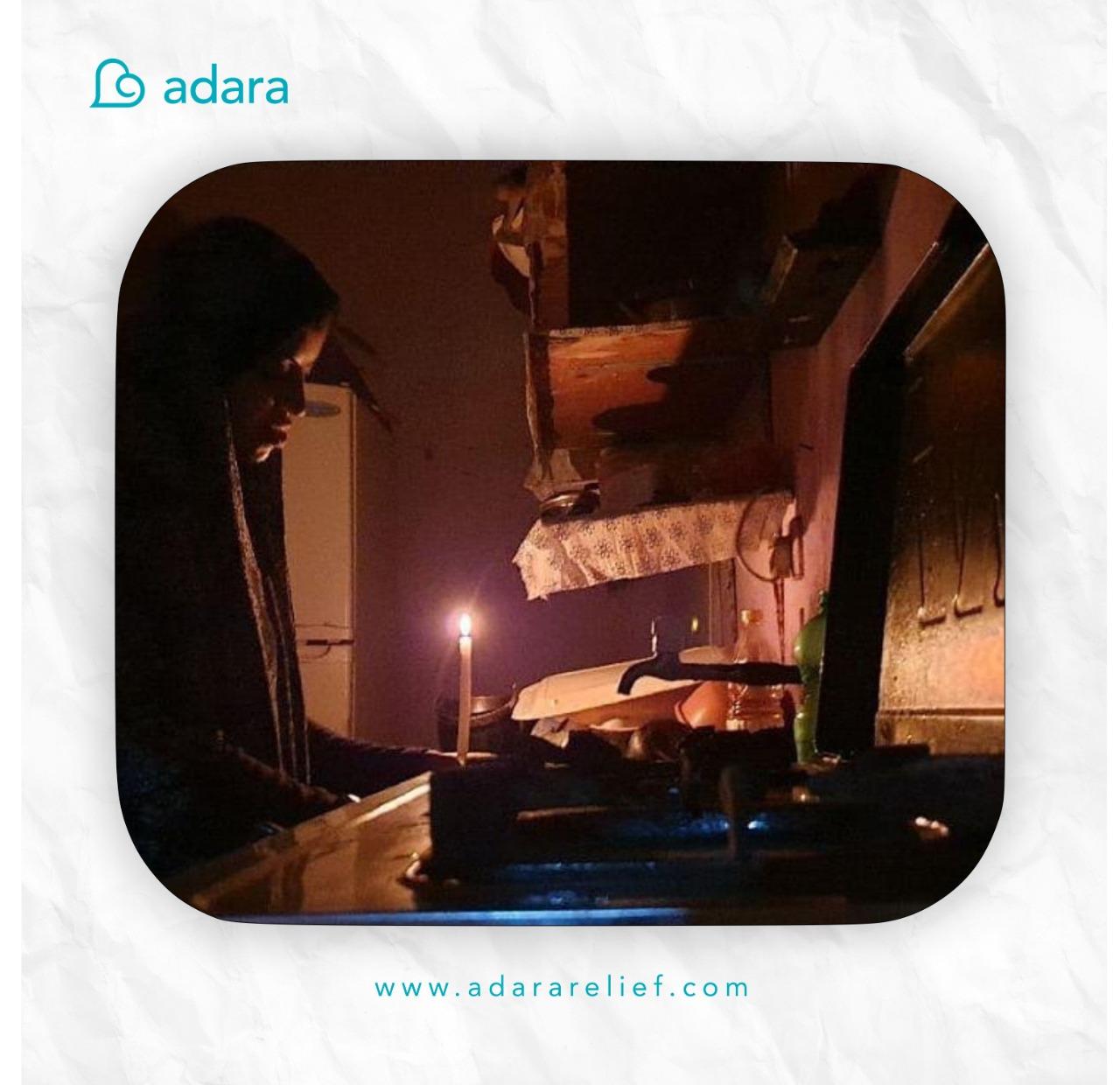 Warga Gaza hidup tanpa listrik.