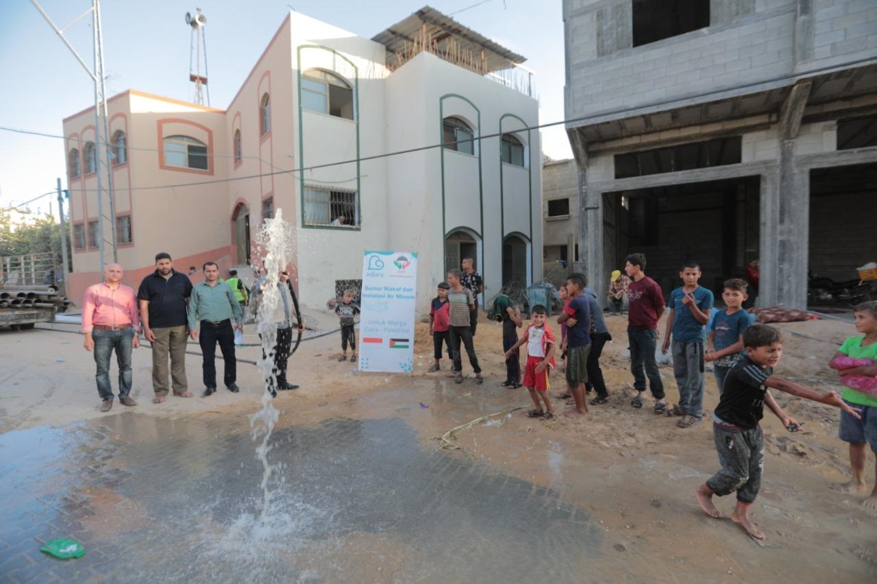 sumur wakaf palestina