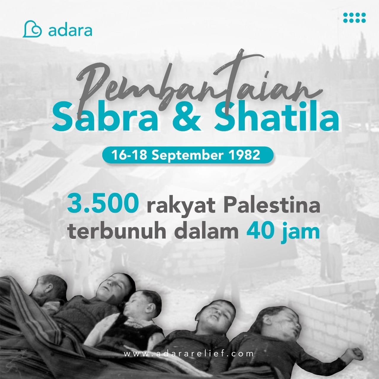 Mengenang Peristiwa Sabra Shatila