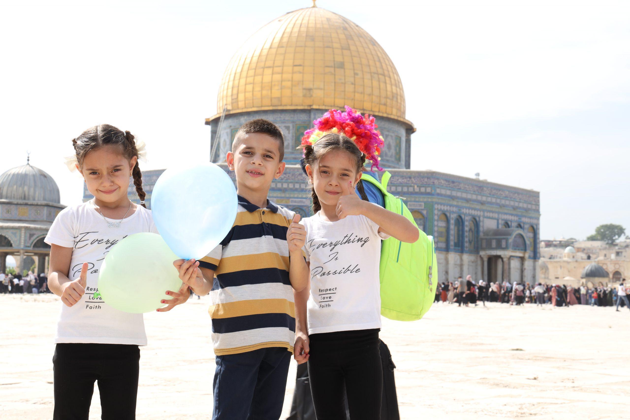 Penyaluran Pemakmuran Masjid Al Aqsa