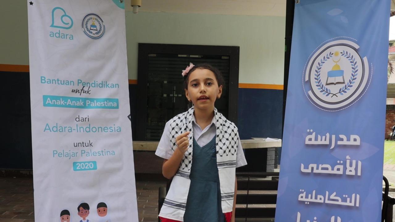 Beasiswa Pendidikan untuk Anak Pengungsi Palestina Telah Disalurkan