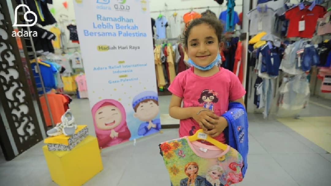 Penyaluran Hadiah Hari Raya untuk Anak-Anak Palestina