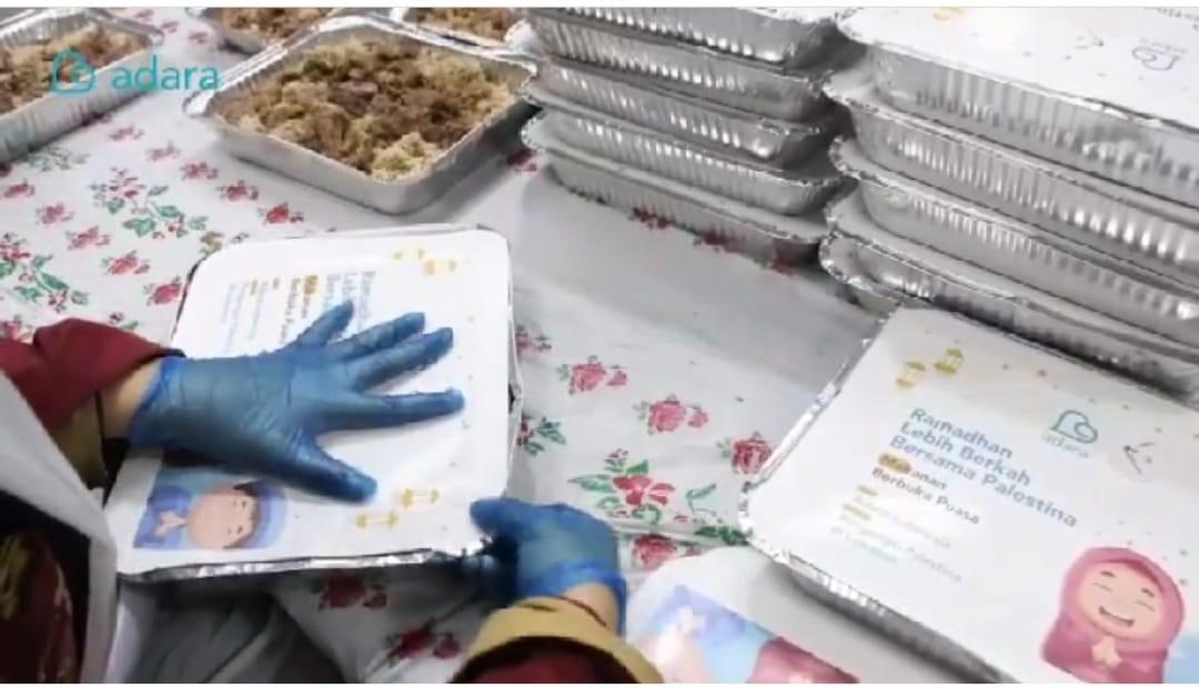 Penyaluran Makanan Berbuka Puasa Bagi Pengungsi Palestina di Lebanon