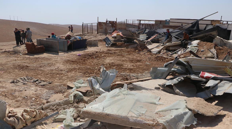 Pasukan Israel Menghancurkan Gubuk di Distrik Salfit