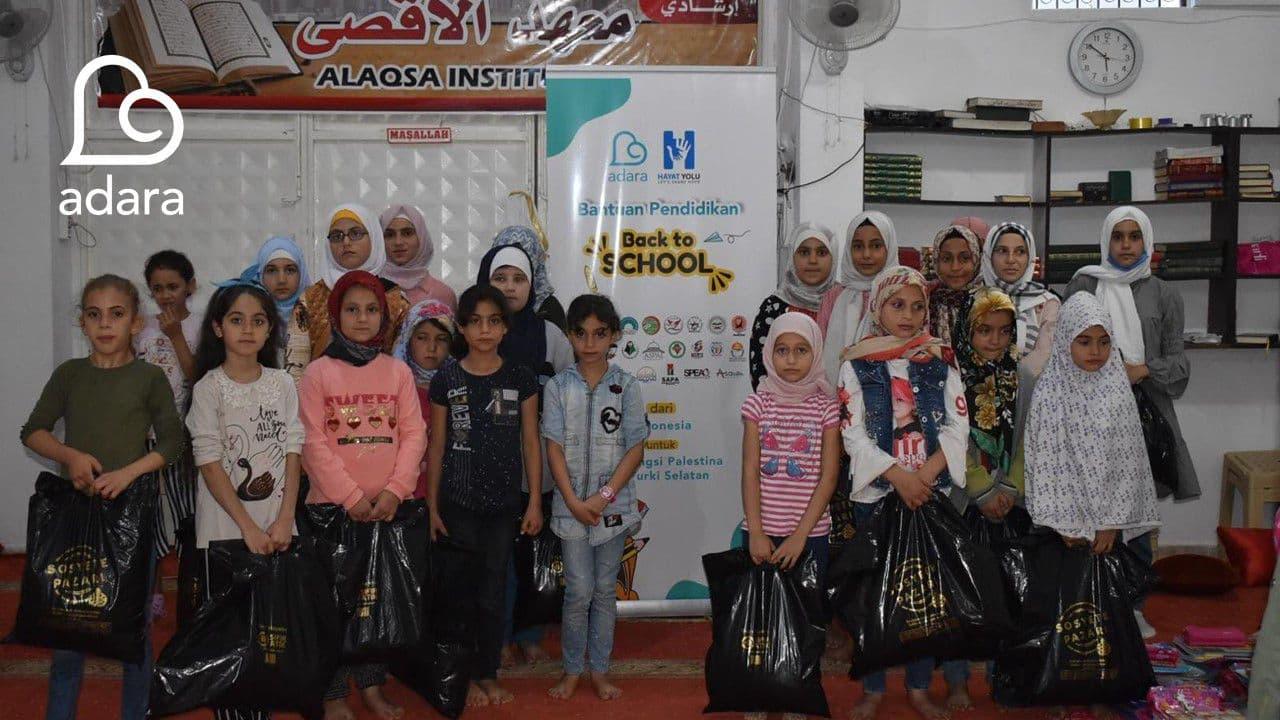 Program Back to School untuk Pelajar Gaza